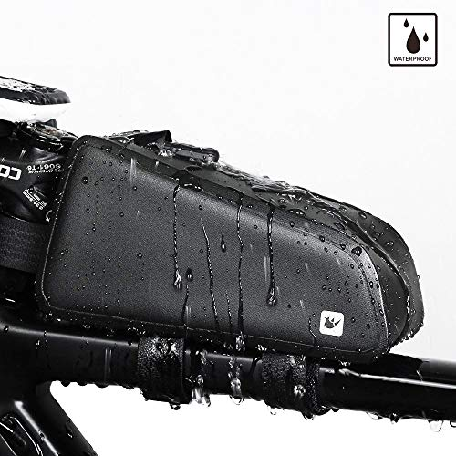 Rhinowalk Bike Bag Bike Top Tube Bag Bike Frame Bag Waterproof and Stable Bicycle Frame Bag Bicycle Bag Professional Cycling Accessories