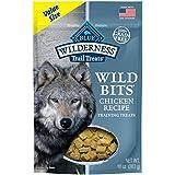 Blue Buffalo Wilderness Trail Treats Chicken Wild Bits Grain-Free Training Dog Treats, 10-Oz Bag