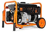 5000 Watt Portable Generator - WEN 56500 5000-Watt RV-Ready 120V/240V Portable Generator with Wheel Kit, Black