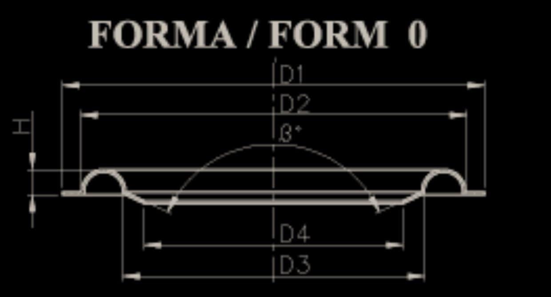 Nuova oeb BS 170.1 Coppia Sospensioni in Foam 171 mm per riconatura woofer da 16 17 cm