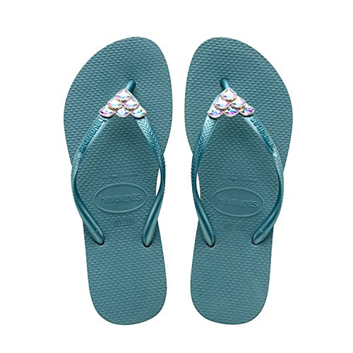 c57ae1811ded1f Havaianas Women Slim Mermaid Mineral Blue. Tap to expand