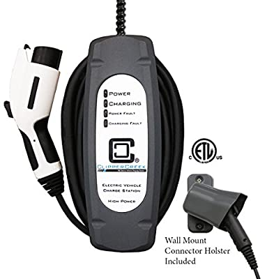 ClipperCreek LCS-25 - 20 Amp Ev Charging Station, Hard-wired, 25 Ft Cable