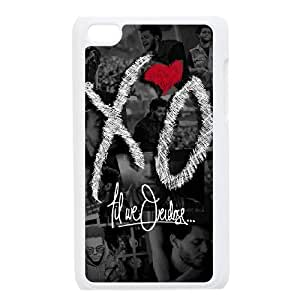 QSWHXN Phone Case The Weeknd XO,Customized Case For Ipod Touch 4