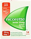(US) Nicorette Step 1 Invisi Nicotine Patches 25mg Pack Of 14