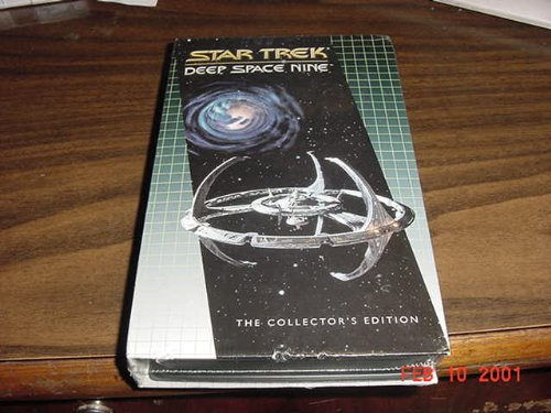 2 Episode VHS Tape Of Star Trek Deep Space 9 --Once More Unto The Breach and The Siege of AR-558