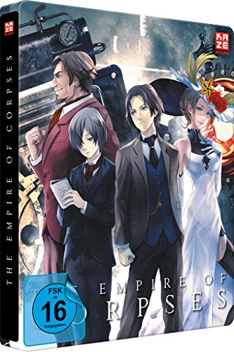 Project Itoh Trilogie Teil 1: The Empire of Corpses - Steelbook (2 Disc ) [DVD und Blu-ray Collector´s Edition]