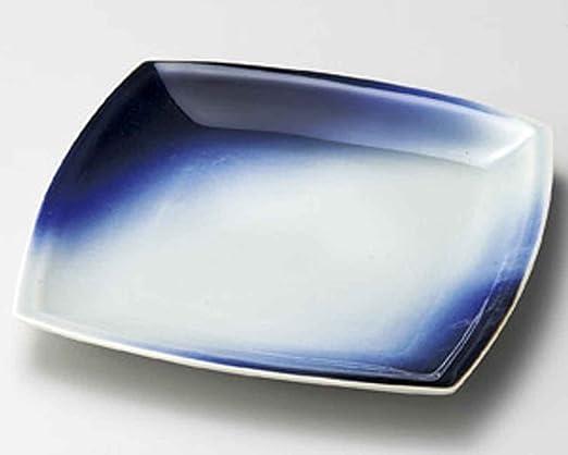 Amazon.com: Aozora Blue Sky - Plato mediano de cerámica ...