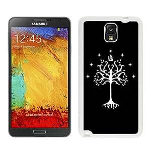 Tree of Gondor White Samsung Galaxy Note 3 Screen Cellphone Case Popular and Unique Design