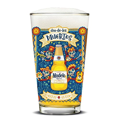 Modelo Day of the Dead 16 oz. Pub - Mariachi Band