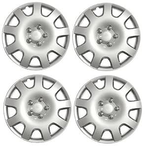 verificación de tamaño de la rueda tapacubos 15