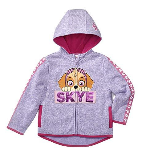 Character Kids' Full Zip Hoodie (Paw Patrol - Skye, 3T)