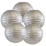 Just Artifacts 12-Inch Silver Chinese Japanese