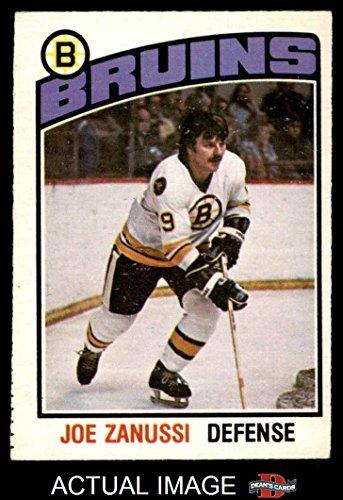 1976-o-pee-chee-nhl-324-joe-zanussi-boston-bruins-hockey-card-deans-cards-3-vg-bruins