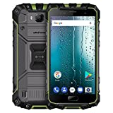 ulefone quad core - Ulefone Armor 2S Triple Proofing Phone 2GB+16GB 5.0 inch Sharp Android 7.0 MTK6737T Quad Core 64-bit up to 1.5GHz WCDMA & GSM & FDD-LTE (Green)