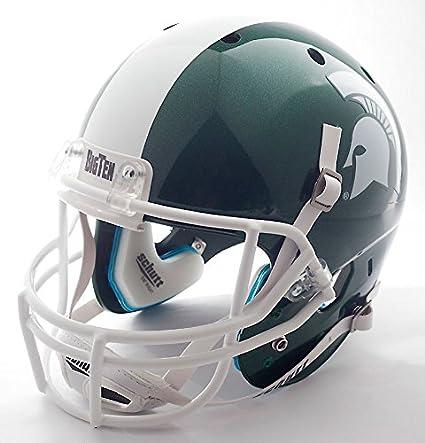 Amazon Com Michigan State Spartans Football Helmet