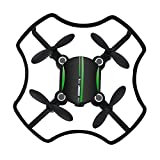 Gbell Cute Mini Camera Drone- Altitude Hold Quadcopter Florld F-19W Wifi FPV 480P Camera 3D flips Drone for Beginnners,Birthday Christmas New Year Gifts for Kids Adults,Black (Black)