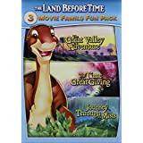 Land Before Time: 3 Movie Family Fun Pack
