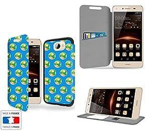 Life Up ! Collection Pattern Funda de Cuero para Samsung Galaxy A5 Flip Case Cover (Estuche) PU Cuero - Accesorios Case Industry Protector