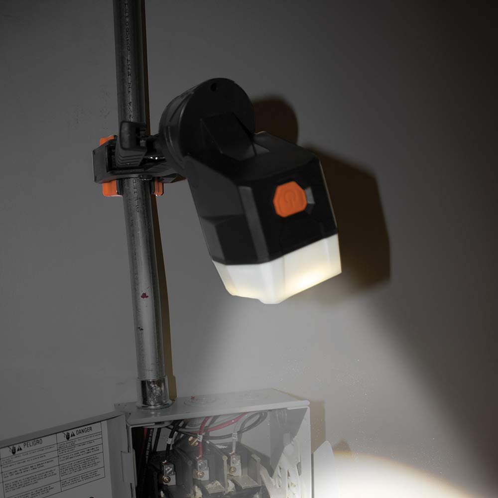 Work Light, LED Clamp Light Rotates 360 Degrees, Pivots 90 Degrees, Dust and Water Resistant Klein Tools 56029 by Klein Tools (Image #2)