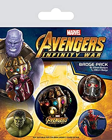 Marvel - Badge Pack Avengers Infinity War: Amazon.es: Hogar