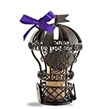 Epic Products Cork Cage Hot Air Balloon Ornament, Multicolor
