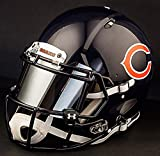 Riddell Speed CHICAGO BEARS NFL REPLICA Football Helmet with MIRRORED Eye Shield/Visor
