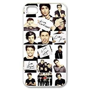 VNCASE One Direction Phone Case For Iphone 4/4s [Pattern-6 plus]