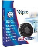 Wpro FAC269 Filtre de Hotte à Charbon Type 26 Diamètre: 280 mm Rechargeable by Wpro