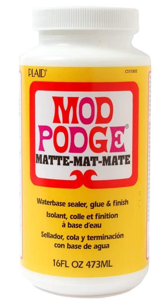 Mod Podge Waterbase Sealer, Glue (16-Ounce) CS11302 Matte Finish
