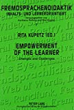Empowerment of the Learner 9780820454528