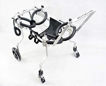 1,5 kg Carrello per cani disponibile in una variet/à di formati arti 4 ruote disabili regolabile a piedi cani di grossa taglia 3,3 libbre adatto per animali domestici 110 libbre - 50 kg