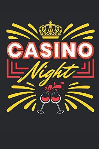 Casino Night: Casino Journal, Blank Paperback Notebook for Gamblers, Gambling Log (List Of Slot Machines In Las Vegas Casinos)