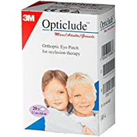 "3M 1539 Opticlude Eye Patch 3 1/4"" x 2 1/4"", Pack of 20"