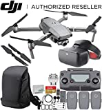 DJI Mavic 2 Zoom Drone Quadcopter with 24-48mm Optical Zoom Camera with DJI Goggles Racing Edition & DJI Carry More Backpack Ultimate Bundle
