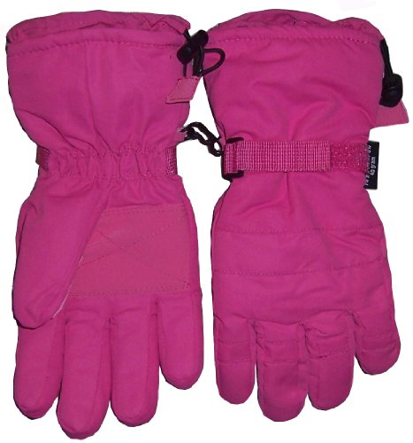 N'ice Caps Girls Ski Glove with Gauntlet