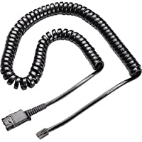 Headset Coil Cable Qd To Modular Jack-2Pack