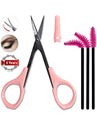 Small Nail Scissors Curved Sharp for Trimmer Precision...