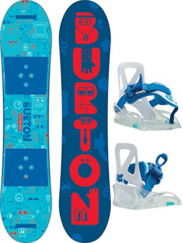 Burton After School Special Snowboard w/Bindings Kids Sz 100cm Balance Snowboard Bindings