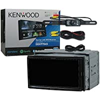 2018 Kenwood Car Double DIN 2DIN 6.95 DVD CD receiver Apple CarPlay & Android Auto with Bluetooth and DCO (Back-up Camera)