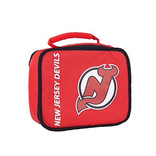y Officially Licensed NHL New Jersey Devils Sacked Lunch Cooler (Devils Lunch Box)
