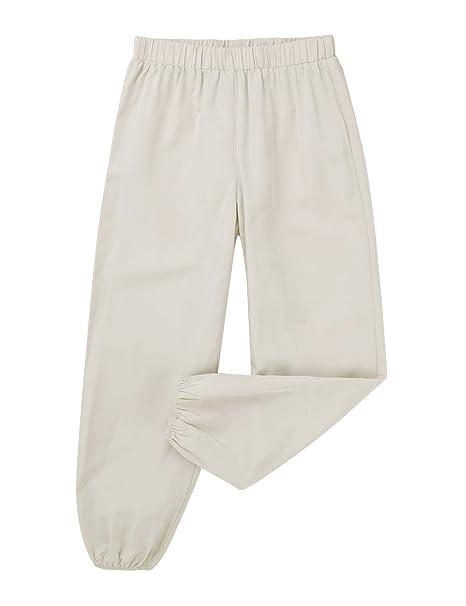 MSemis Pantalones Harem Holgados para Niños Niñas Pantalón ...