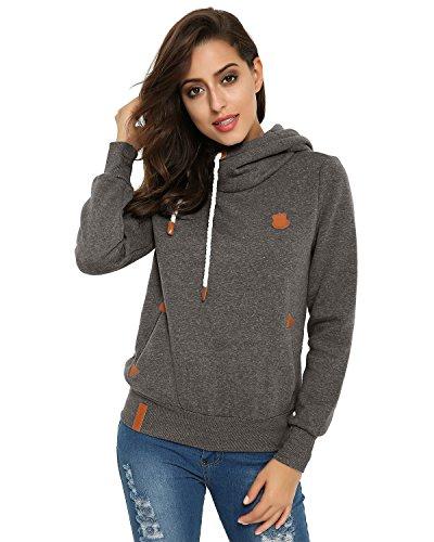 cowl neck womens sweatshirt - 9