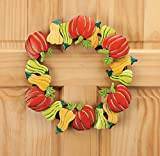 Pumpkin and Gourds Metal Wreath by Maple Lane CreationsTM