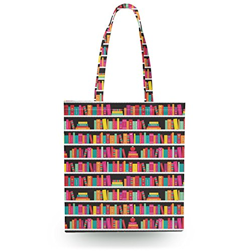 Library Book Case Tote Bag