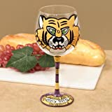 Best Football Fanatics Wine Accessories - LSU Tigers Hand-Painted 16oz. Wine Glass Review