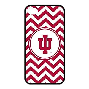 Ncaa Indiana Hoosiers iphone 6 plus 5.5 Red White Chevron Silicon Case Cover at NewOne