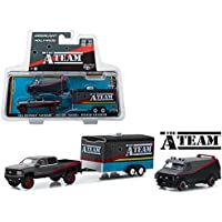 A-Team Set 3 Modelos Car Van GMC VANDURA