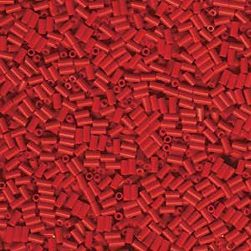 Bugle Beads Miyuki (Miyuki #1 Glass Bugle Beads 3x1.5mm Red -Aprx 19 Grams)