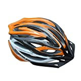 Mysenlan Cycling Helmet 039 for Men and Women (Orange)