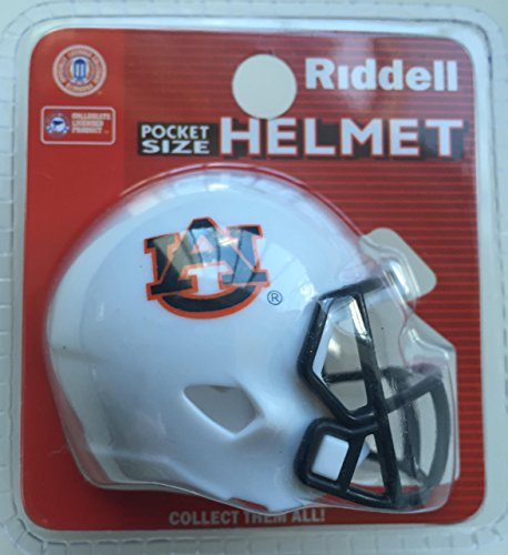 - Riddell NCAA Auburn Tigers Helmet Pocket ProHelmet Pocket Pro Speed Style, Team Colors, One Size